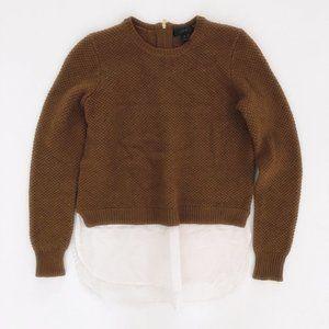 J CREW Women's Wool Sweater Blouse Shirt XS